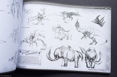 Monster Hunter Illustrations (English Edition), via Flickr.