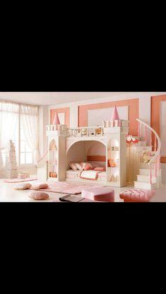 Girl bunk bed