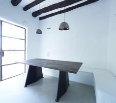 Inkhouse Ibiza - Wooden Table