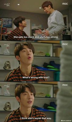 Find images and videos about kdrama, kim bok joo and weightlifting fairy on We Heart It - the app to get lost in what you love. Weightlifting Fairy Kim Bok Joo Funny, Weightlifting Kim Bok Joo, Korean Drama Funny, Korean Drama Quotes, Kim Book, Lee Sung Kyung, W Two Worlds, Drama Fever, Kdrama Memes
