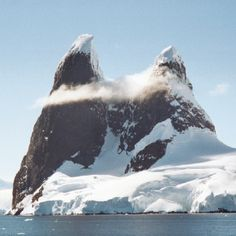 Channel Peaks Antarctica