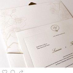Clássico e elegante  #identidadevisual #wedding #convitedecasamento #weddingstationery #susanafujita