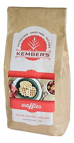Kembers Gluten Free Waffle Mix 19 oz package >>> Check out the image by visiting the link.(This is an Amazon affiliate link)