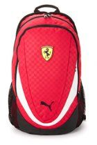 PUMA Ferrari Replica Backpack Book Bag in Red 07223101 8a27f1d673e44