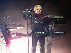 Nick Rhodes - keyboardist and co-founder of synth pop stalwarts, Duran Duran. (photo by Halifax.)