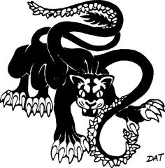 Displacer Beast (from the 1st Edition Monster Manual).