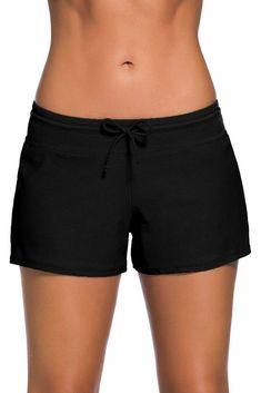 Damen High Waist Bikini Set Badeanzug Badmode Tankini Badeshort Schwimmanzug 44