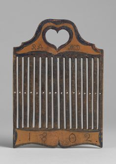 Rigid heddle from early XIX cetury
