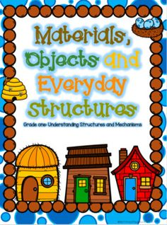 Materials, Objects and Everyday Structures by My Primary Playground | Teachers Pay Teachers