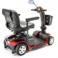 Pride Mobility  Victory 9  MidSized Scooter  4Wheel  Candy Apple Red <3 This is an Amazon Associate's Pin. Detailed information can be found on Amazon website by clicking the image.
