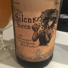 The Silent Siren is a Saison / Farmhouse Ale style beer brewed by Reaver Beach Brewing Company in Virginia Beach, VA