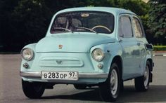 Russian-designed car based on FIAT «Запорожец Fiat 500, Retro Cars, Vintage Cars, Vintage Auto, My Dream Car, Dream Cars, Fiat Models, Assurance Auto, Small Cars