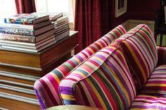 Smashing Striped Sofa