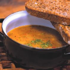 Polévka gulášová s hlívou ústřičnou Ethnic Recipes, Food, Essen, Meals, Yemek, Eten