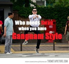 Who needs swag when…