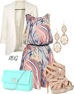 "Polyvore Summer Outfits | ... Summer 2013 Polyvore Outfits / ""Bel Air"" by r-viviane16 on Polyvore"