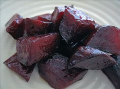Roasted Balsamic Beets from Food.com: Even if you don't normally like beets, you'll love the sweet and tangy taste of this easy recipe.