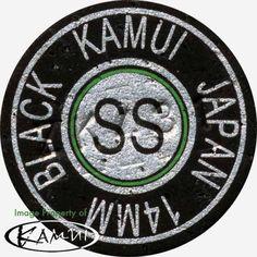 1 Genuine Kamui Black Super Soft Pool Cue Tip (Super Soft=SS) Free Shipping! #Kamui