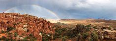 Panorama of Arches National Park, Utah