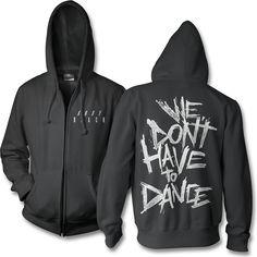 Official Andy Black Dance Zip Hoodie
