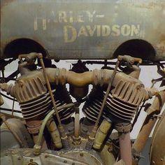 #harleydavidson #vintageharley #respect #holy #sublime #engine