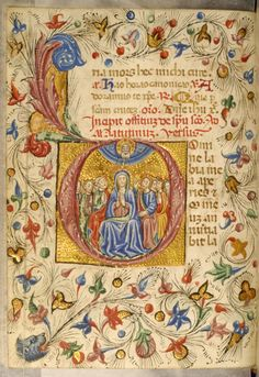 Zanino Di Pietro - Book of Hours, mid 15th century (before 1463), ink, color and gold on parchment | Walters Art Museum