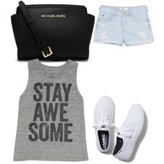 Untitled #176 by evanmonster on Polyvore featuring polyvore fashion style Billabong MANGO Keds MICHAEL Michael Kors