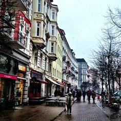 Eclectic Hamburg, Germany - setting