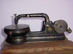 this is Florence sewing machine 1880's...I just found one...