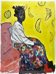 The Vibrant, Wide-Reaching Paintings of Kudzanai-Violet Hwami | Hi-Fructose Magazine
