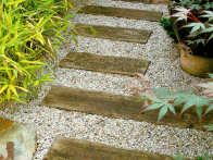Landscaping with gravel and other soft surfacing hgtv for Soft landscape materials