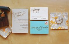 It's the ladies of Antiquaria, back with another fabulous and creative DIY project for you!  To celebrate the launch of their new custom wedding invitation design studio, this week they're here with a tutorial for a full wedding invitation suite!