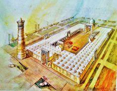 sketch Bukhara Minorai Kalyan
