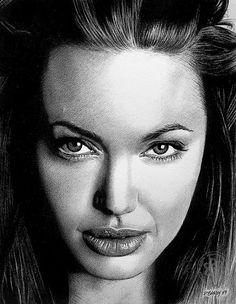 Angelina Jolie 04. by pbradyart, via Flickr