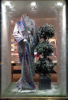 Bouquet Eclate robe at Porthault~ Geoff Howell Studio Inc.