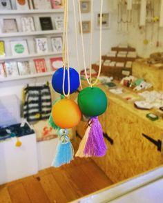 New necklaces in by @supersuperhq! #colourpop #tassle #peace #buyhandmade #shoplocal #itsinnottingham #shopnotts #lovenotts