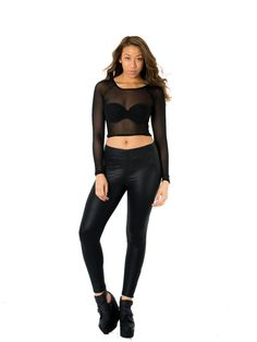 Minkpink Moonlight Top $34 #fashion #mesh #womenfashion