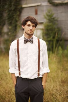 Men in Suspenders
