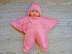 Star baby bunting | Craftsy