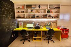 Escritório de Arquitetura Passo3: Escritórios translation missing: br.style.escritórios.industrial por Passo3 Arquitetura