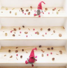 """Take """"steps"""" this Holiday to make special moments with your sweetheart that make the holidays less stressful.  It's the little things and love that make this season so special! #Gnoments"""