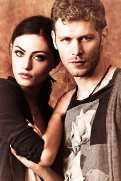 Phoebe Tonkin & Joseph Morgan  The Originals