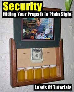 Security, Hiding Your Preps It In Plain Sight,shtf,prepping,security,gear,homesteading,how to,DIY,tutorials