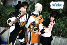 Suikoden V- Protect the Prince Cosplay