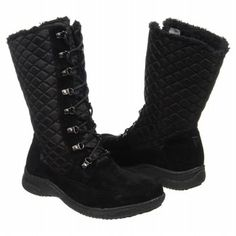 Propet Alta Tall Lace Boots (Black) - Women's Boots - 6.5 M