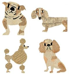 dog artist with a mustache - Google Search