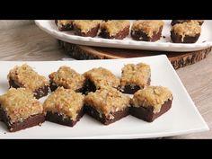 German chocolate cake brownies