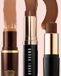 The Best Stick Foundations for Medium to Dark Skin Tones – Care – Skin care , beauty ideas and skin care tips Dark Complexion, Dark Skin Makeup, Dark Skin Beauty, Dark Skin Tone, Brown Skin, Makeup Eyebrows, Nude Makeup, Natural Makeup, Eyeliner