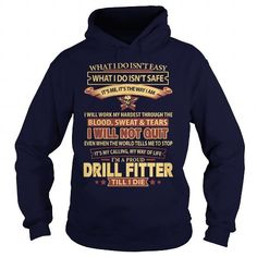 DRILL-FITTER T Shirts, Hoodies Sweatshirts. Check price ==► https://www.sunfrog.com/LifeStyle/DRILL-FITTER-Navy-Blue-Hoodie.html?57074