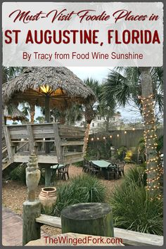 Augustine the oldest city in Florida has a number of historical places to eat. Here are our favorite restaurants and pubs in St. Where to eat in St. Visit Florida, Florida Vacation, Florida Travel, Florida Beaches, Vacation Spots, Travel Usa, Vacation Ideas, Places In Florida, Florida Food